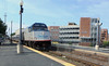 Haverhill Station Amtrak Train 686 Running Late