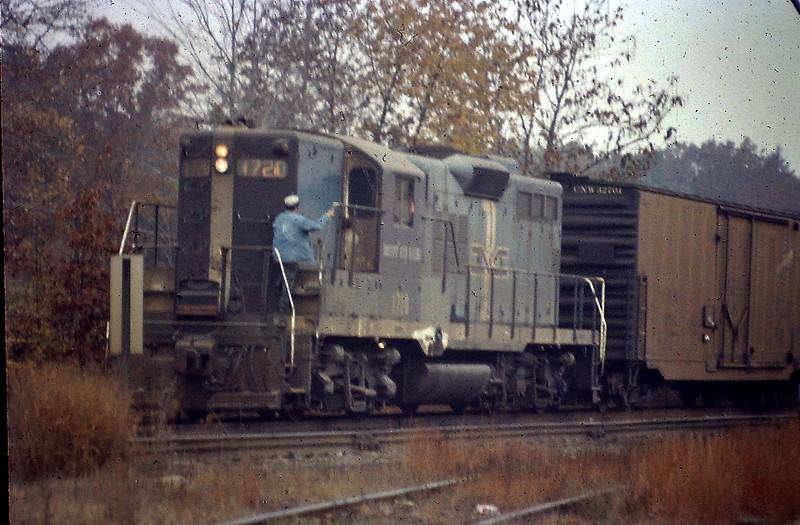 BM Engine 1720 in 1972
