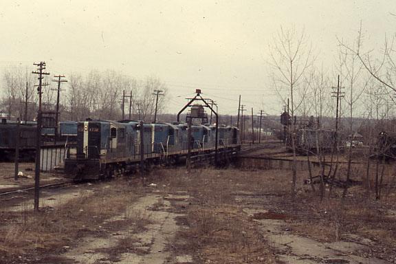 Mechanicville Turntable Bluebirds
