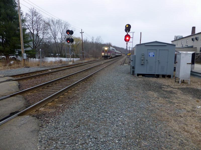 Ward, Hill, MA - Control Car on Train Number 222
