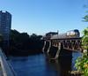 Merrimack River Bridge - Downeaster Train Number 695