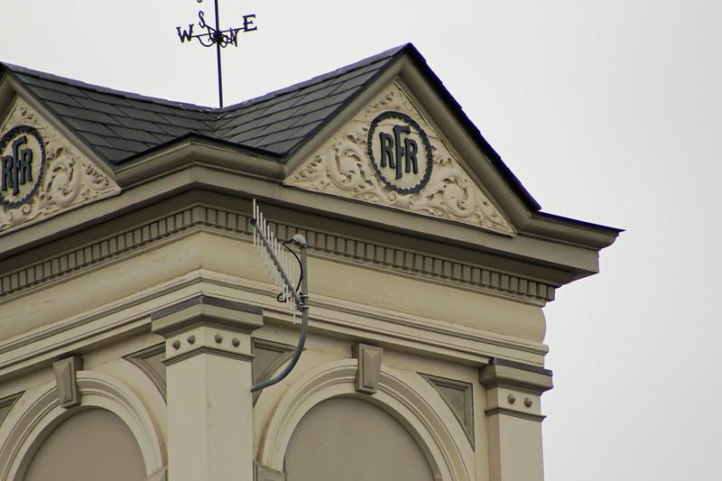 Athol Depot Fitchburg Railroad Logo