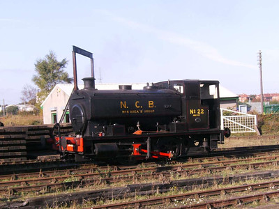 Andrew Barclay 2274/1949 No 22, a locomotive which was bought new for use on the Bowes Railway