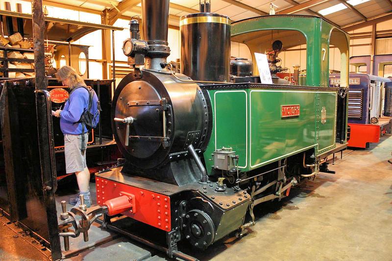 246 (7) 'Victory' Decauville  0-4-2T - Bredgar & Wormshill Railway 25.06.11  Lee Nash