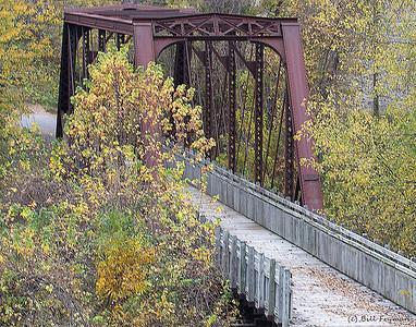 Missouri-Kansas-Texas Loutre River Trestle (now part of Katy Trail State Park)