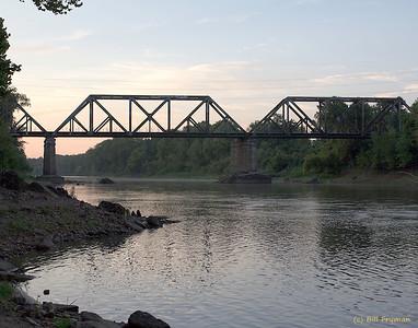 BNSF Meramec River Trestle, Valley Park, MO