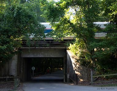 Amtrak on Union Pacific, Castlewood Park, St. Louis County