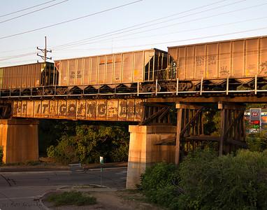 BNSF, Lansdowne Avenue, Shrewsbury, MO