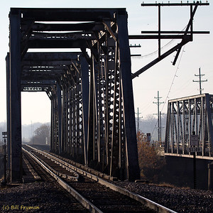 Old Monroe Trestle on BNSF - I