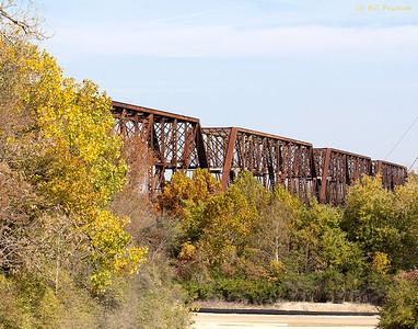 BNSF Missouri River Trestle, West Alton, IL