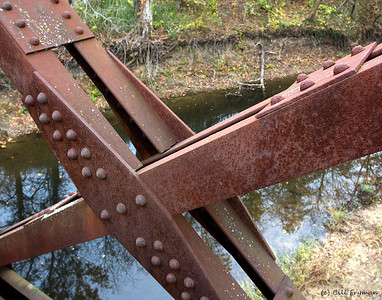 Bridge details, Missouri-Kansas-Texas Massie Creek Bridge (now part of Katy Trail State Park)