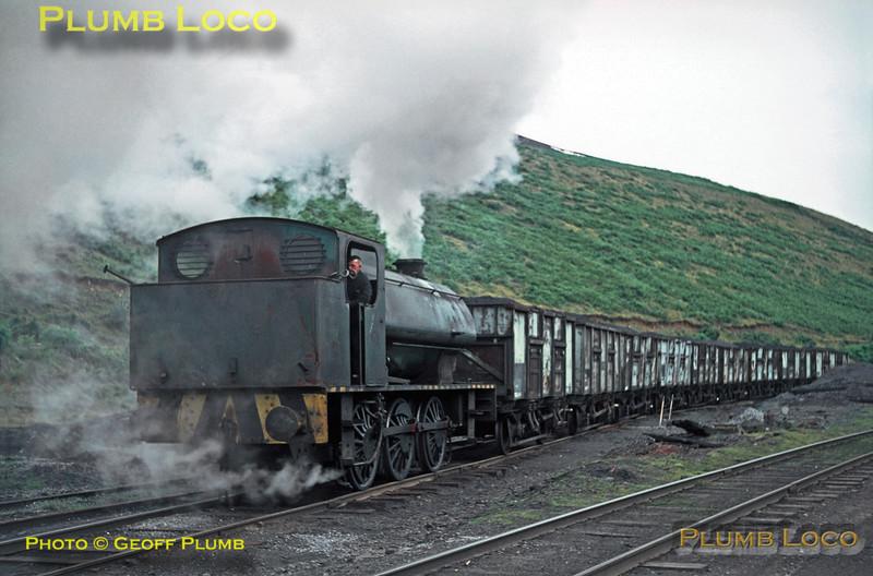NCB Austerity 0-6-0ST, Graig Merthyr Colliery, August 1969