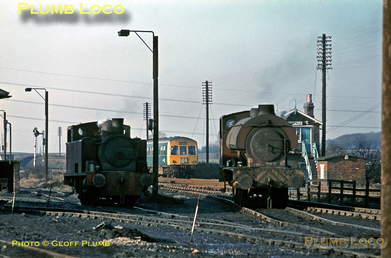 NCB S100 & Hunslet, Peckfield, 19th January 1971