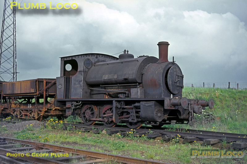 "Hunslet No. 1645 ""The Bursar"", Wroxton, Oxfordshire Ironstone, 22nd May 1964"
