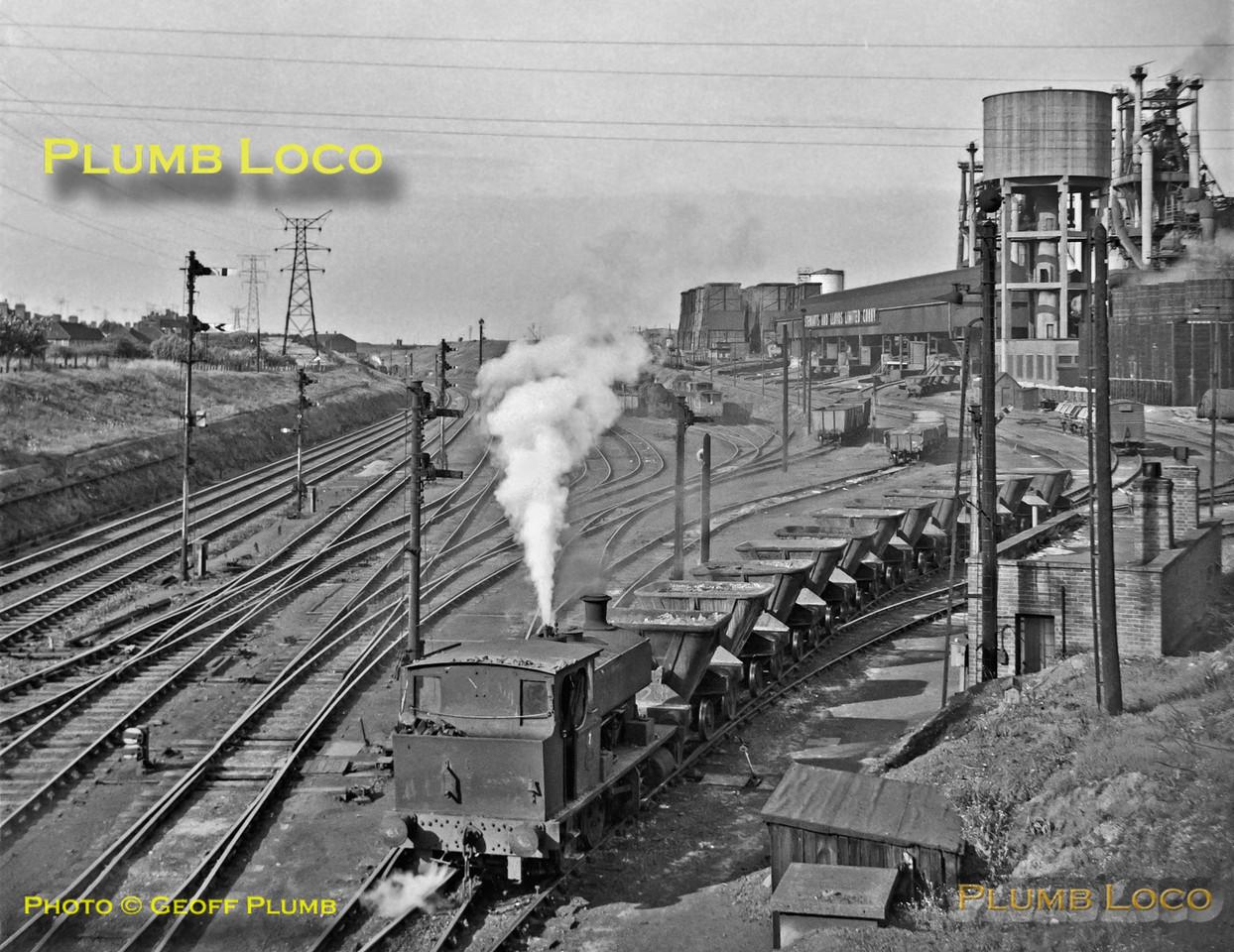Stewarts & Lloyds Barclay No. 7, Corby, 10th August 1962