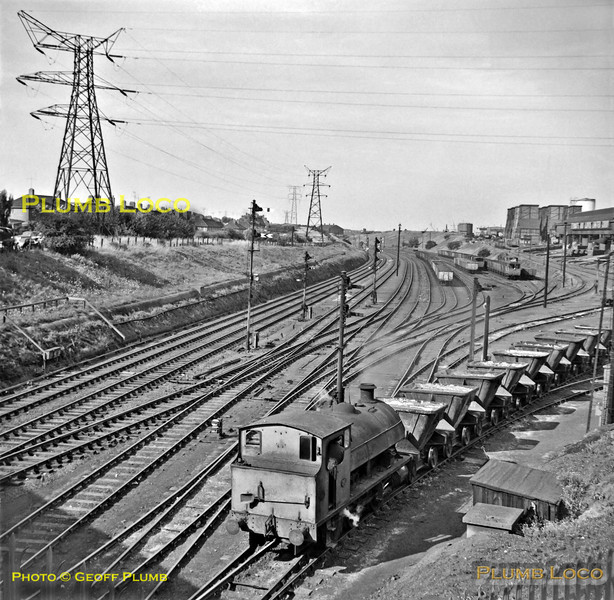 Stewarts & Lloyds No. 21, Corby Steel, 10th August 1962