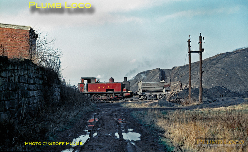 NCB Whit No. 4, Water Haigh Colliery, 19th January 1971