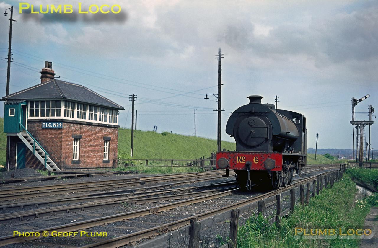 NCB No. 6, T.I.C. No. 9 Signal Box, Whitehill Point, June 1969