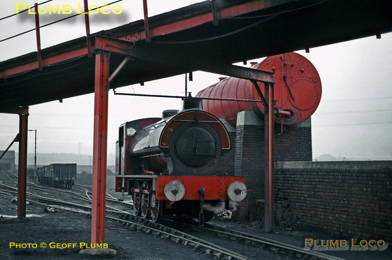 """NCB Hunslet """"Austerity"""", Wheldale Colliery, Castleford, 19th January 1971"""