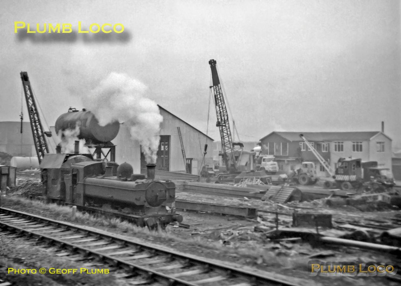 9642, Hayes Scrap Yard, Bridgend, 6th January 1967