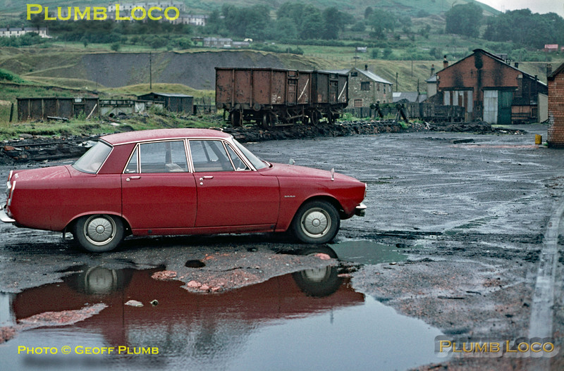Rover 2000, NCB Talywain, July 1970