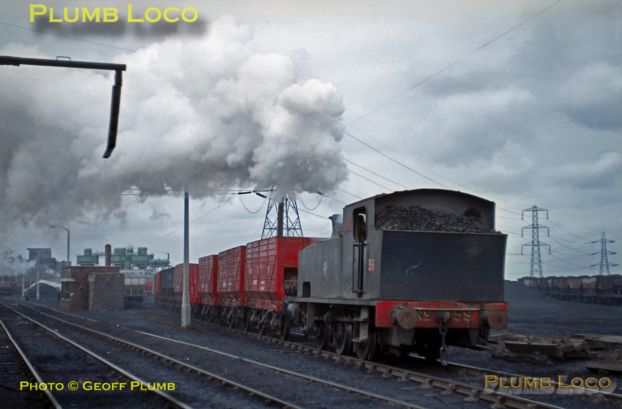 NCB 0-6-0T No. 39, Eccles Colliery, March 1969