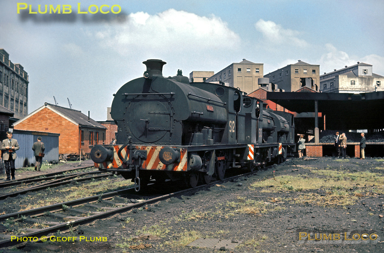 "Peckett S12 ""Clifton"", Avonmouth Docks, 21st July 1963"