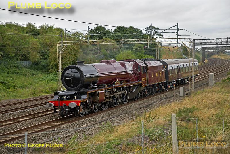"""6201 """"Princess Elizabeth"""", Old Linslade, 5Z46, 22nd August 2016"""