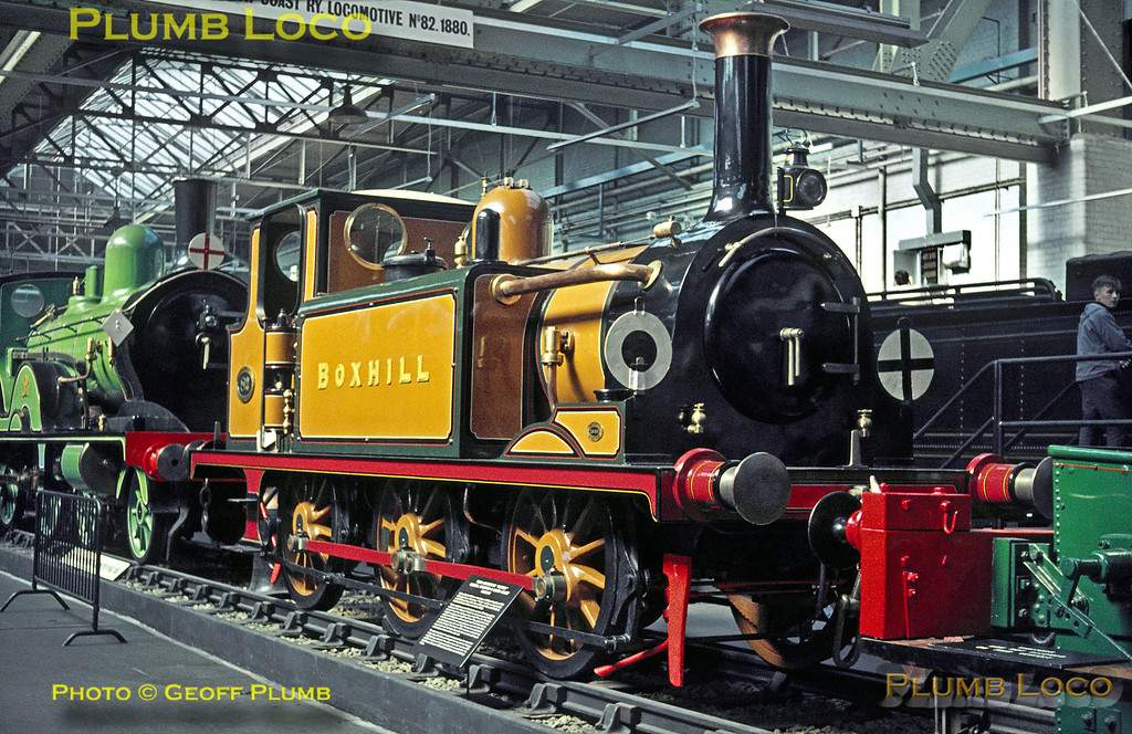 "LB&SCR A1 ""Terrier"" No. 82 ""Boxhill"", Clapham Museum, 8th April 1964"