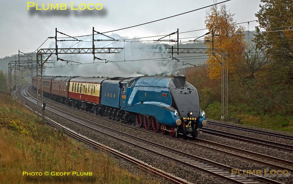 """4464 """"Bittern"""", Old Linslade, 1Z85, 22nd November 2014"""