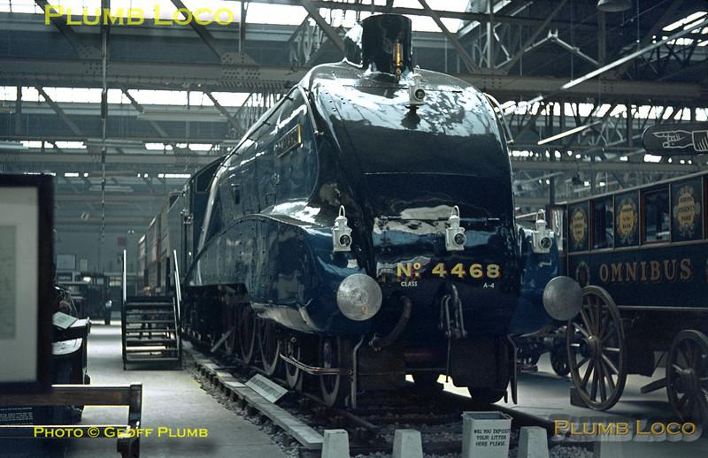"4468 ""Mallard"", Clapham Museum, 8th April 1964"