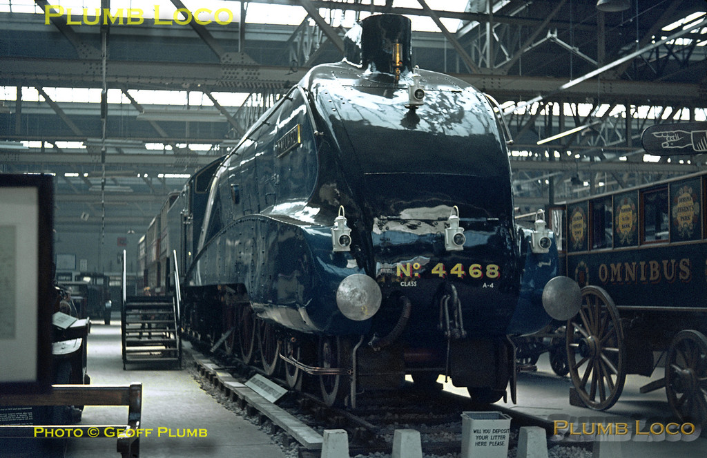 "4468 ""Mallard"", Clapham Museum, 8th April 1964"