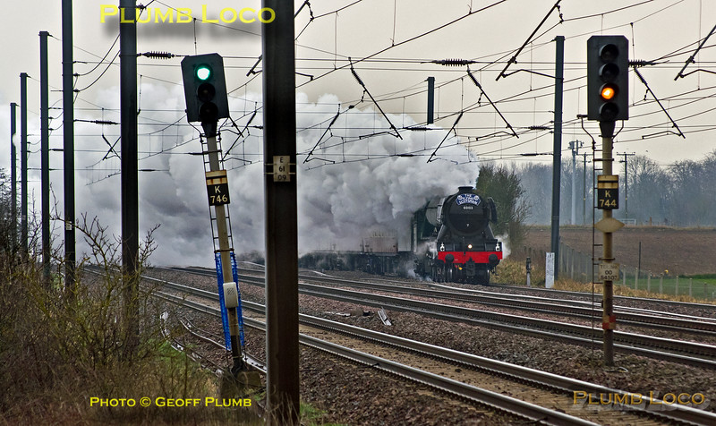 "60103 ""Flying Scotsman"", Langford, 1Z60, 25th February 2016"