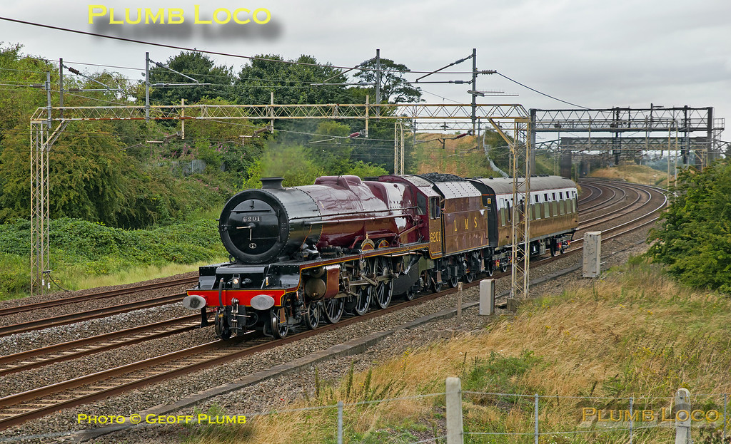 "6201 ""Princess Elizabeth"", Old Linslade, 5Z46, 22nd August 2016"