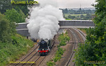 "60103 ""Flying Scotsman"", Oakley, 1Z24, 25th June 2016"