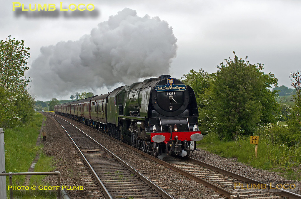 46233 'Duchess of Sutherland', King's Sutton, 1Z52, 23rd May 2015