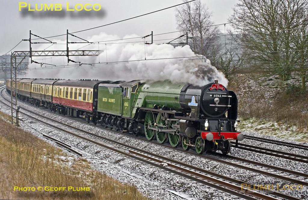 """60163 """"Tornado"""", Old Linslade, 1Z61, 11th February 2017"""