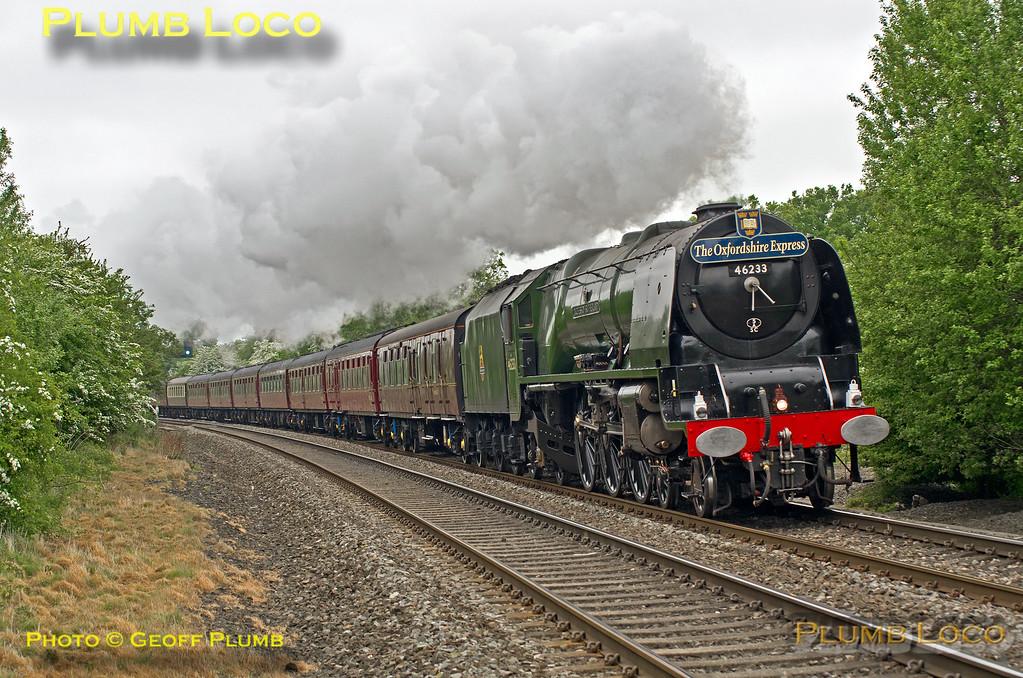 46233 'Duchess of Sutherland', Wormleighton, 1Z52, 23rd May 2015