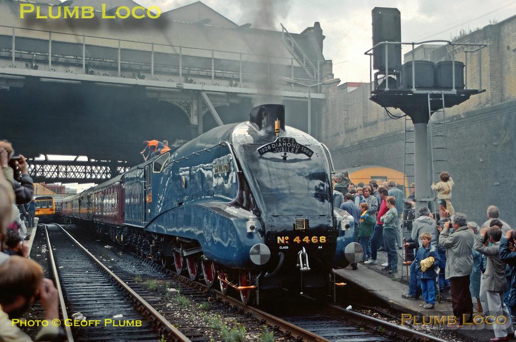 "4468 ""Mallard"", Manchester Victoria, 30th July 1988"