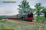 "70000 ""Britannia"", Elmswell, 15th June 1996"