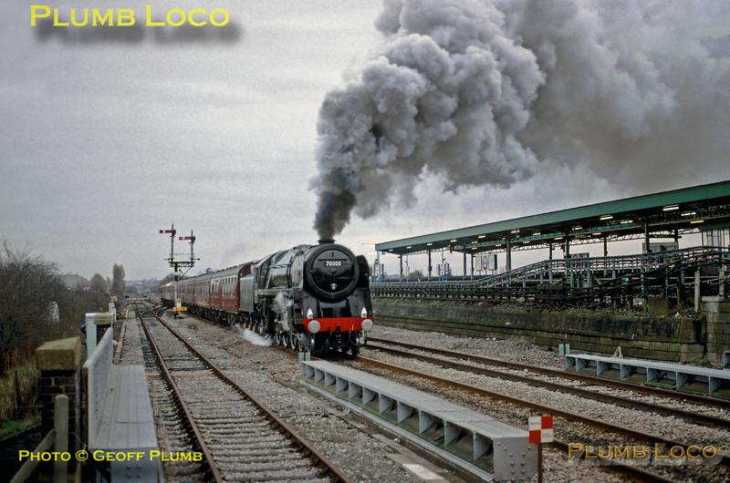 "70000 ""Britannia"", Greenford, 20th December 1992"