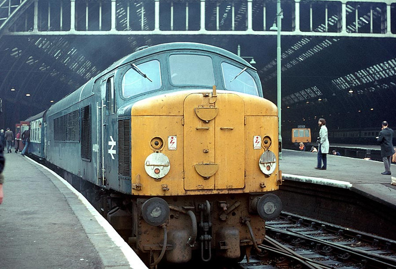44002 St Pancras on 'Peak Express' Railtour 15th Oct 1977