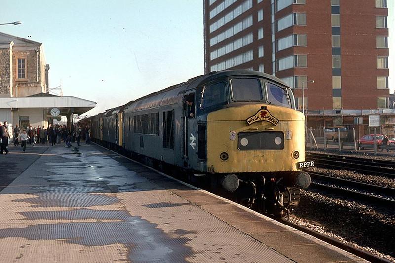 46001/25157/25225 Swindon on 'Welsh Wonder' Railtour 25th Nov 1978