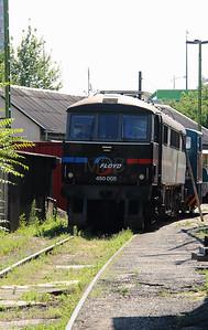 FLOYD, 450 005 (91 55 0450 005-8 H-FLOYD ex UK 86215) at Budapest Keleti  FLOYD on 6th July 2015