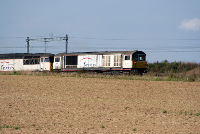 1) 58 021 & 56 103 entering Ocquerre construction base on 25th August 2006