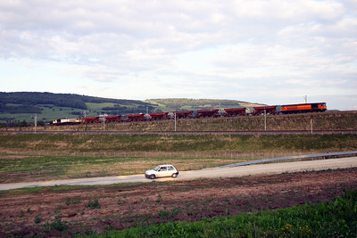 2) 58 015 & 58 009 near Pagny-Sur-Moselle on 22nd August 2006