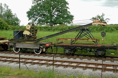Cowans & Sheldon Crane 3282 M&GC Jt 1 - Buckinghamshire Railway Centre - 10 June 2012