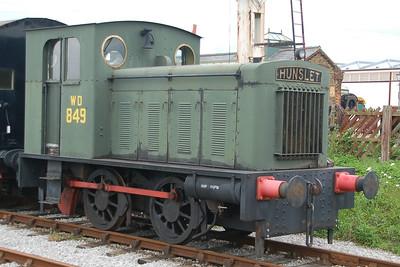 HE 2067 WD 849 - Buckinghamshire Railway Centre - 10 June 2012