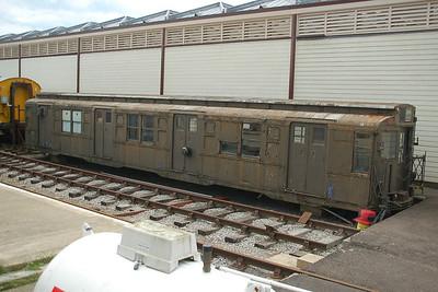 New York Subway Car 1144 - Buckinghamshire Railway Centre - 10 June 2012