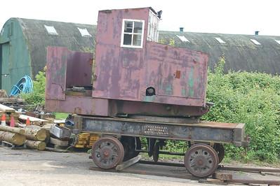 Grafton Crane 2357 - Buckinghamshire Railway Centre - 10 June 2012